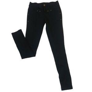 Free People Black Skinny Jeggings Jeans Size 26